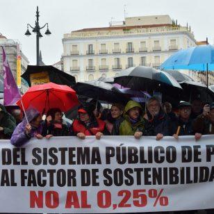 Manifestación 17M por unas pensiones dignas