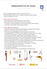 Ficha herramientas de mano