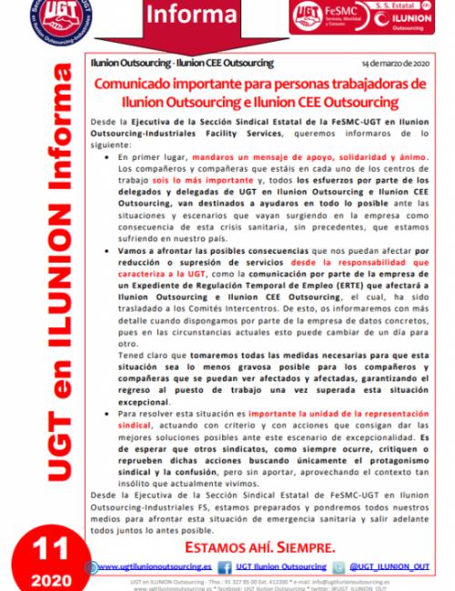 Comunicado 11 (Nacional)