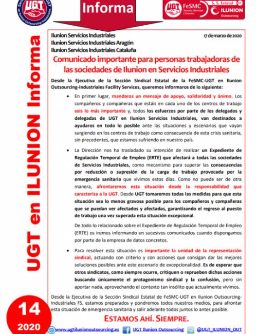 Comunicado 14 (Nacional)