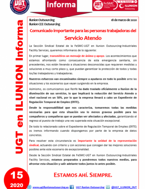 Comunicado 15 (Nacional)