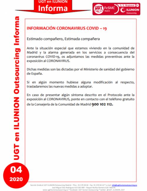 Comunicado 04 (Madrid)