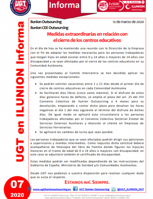 Comunicado 07 (Nacional)