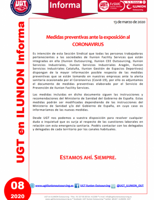Comunicado 08 (Nacional)