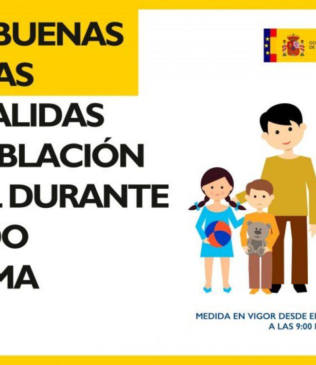 Guía buenas prácticas salidas población infantil