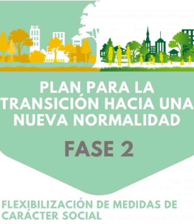 Flexibilización de medidas fase 2